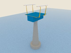 skywalk piece 3D model