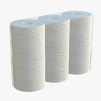 toilet paper pack model