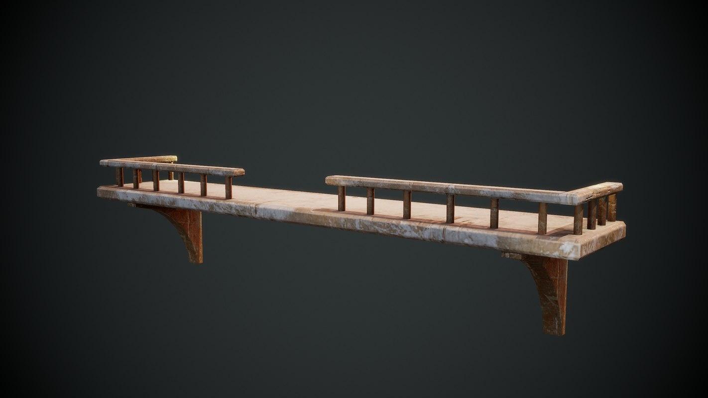 shelf furniture 3D model