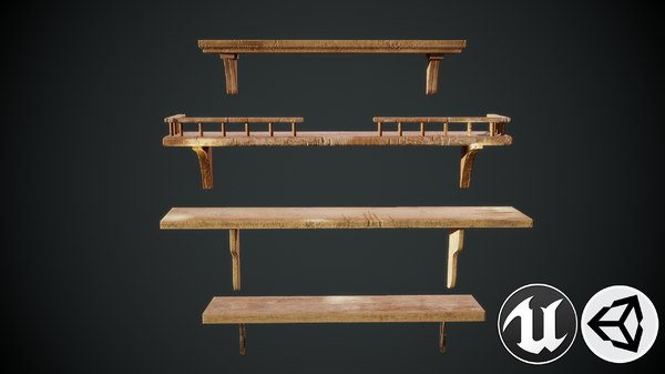 shelf furniture 3D model