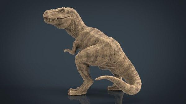 tyranossaurus rex sculpture 3D