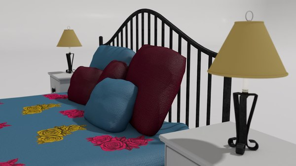 3D french style queen size