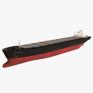 new orleans bulk carrier 3D model