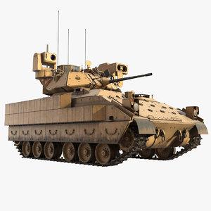 bradley m2a3 tank 3D model