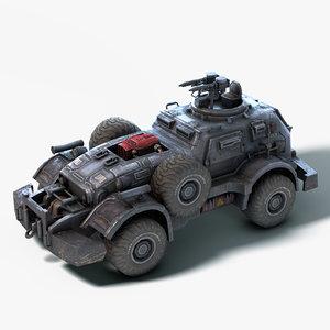 3D death race model