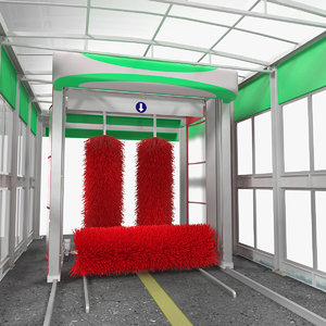 automatic vehicle wash generic 3D model