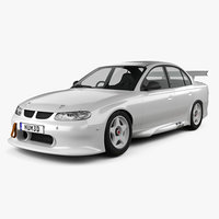 3D holden commodore 1997