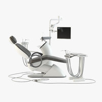 3D model dental station