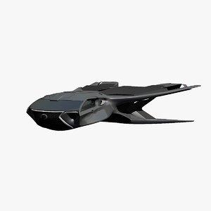 3D enforcer model
