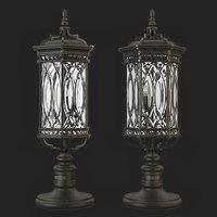 3D model fine art lamp