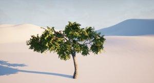 3D model tree apple