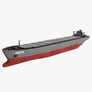 3D military bulk carrier
