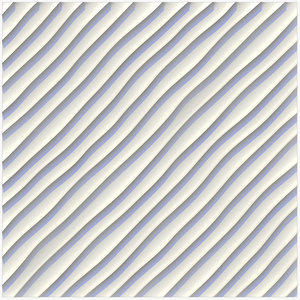 wall panel sandy ripples 3D model