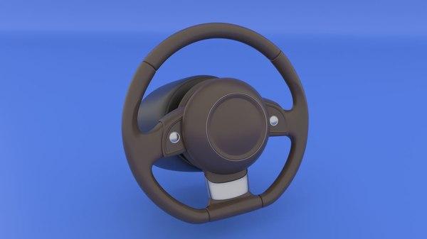 3D steering wheel airbag rig