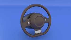 3D steering wheel airbag rig