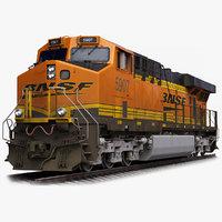 GE ES44AC Locomotive BNSF