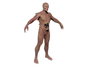 mutant monster zombie 3D