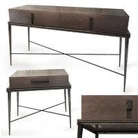 3D bedside table langham sofa chair model