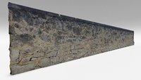 3D limestone wall 2