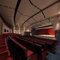 3D theatre lightings