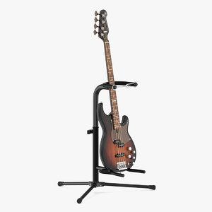 3D bass guitar