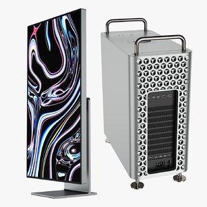 mac pro 2019 3D model