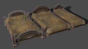 3D beds pbr