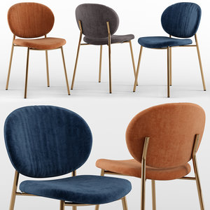 ines chair - calligaris 3D model