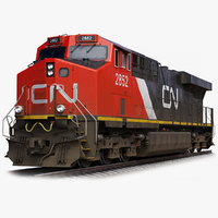 GE ES44AC Locomotive Canadian Pacific