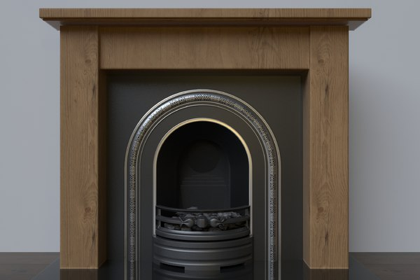 place hearth 3D model