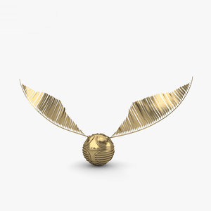 3D golden snitch