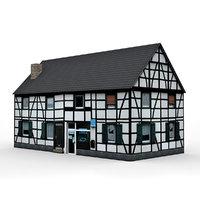 european house 3 3D model