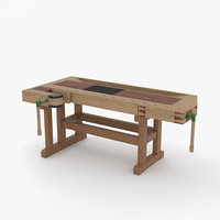 workbench bench work model