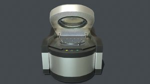 pbr desktop xrf spectrometer 3D