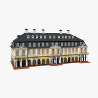3D model hanau wilhelmsbad germany