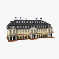 3D model hanau wilhelmsbad germany