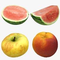 3D scan fruit model