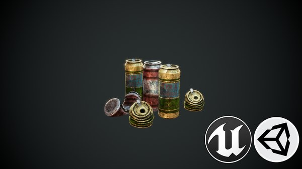 cans pbr 3D