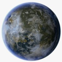 3D exoplanet 2