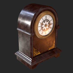retro vintage table clock model