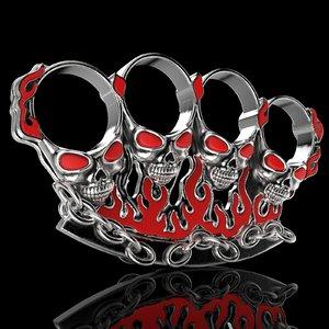 jewelry gothic badass design 3D model