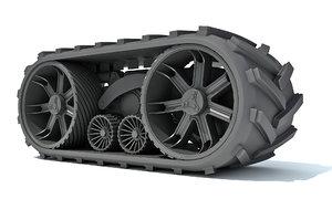 3D track kit model