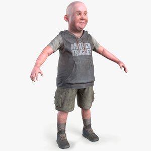 3D dirty tomboy