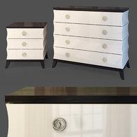 dresser bedside table model