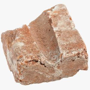 brick piece 12 3D model