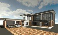 storey residence 3D model