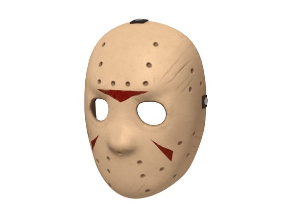 3D hockey mask model
