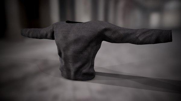 shirt sweatshirt 3D model