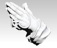 pray hand 3D model