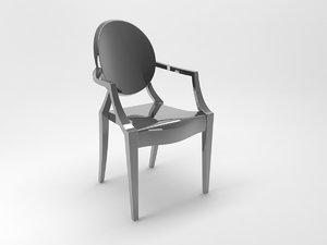 kartell chair 3D model